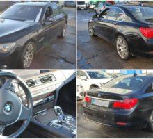 10.3.2018 Dražba automobilu BMW 730 D, r. 2010. Vyvolávací cena 150.000 Kč.