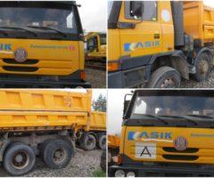 29.3.2018 Dražba nákladního automobilu Tatra  T815-290R84 41 300 8X8.2 T81. Vyvolávací cena 605.000 Kč.