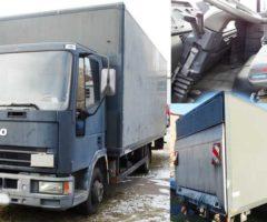 Aukce nákladního automobilu Iveco. Vyvolávací cena 46.700 Kč.