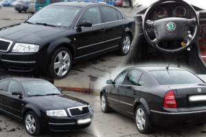 Aukce automobilu Škoda Superb TDI 2,5/120 kW. Vyvolávací cena 35.700 Kč.