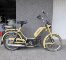 Do 9.4.2018 Aukce motocyklu Babeta, typ 210, vyvolávací cena 3.500 Kč.