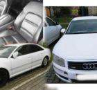 Do 20.04.2018 Insolvenční prodej automobilu AUDI A8, 3.0 V6 TDI, minimální kupní cena 123.000 Kč