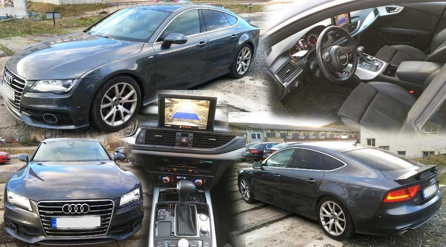 Dražba automobilu Audi A7 Sportback Quattro S-line