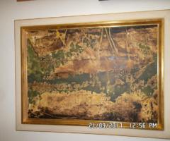 12.4.2018 Dražba obrazu Pavel Turjanský, kombinovaná technika. Sign. rok 1996. Vyvolávací cena 7.500 Kč.