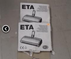 4.4.2018 Dražba rotačních kartáčů Eta. Vyvolávací cena 200 Kč.