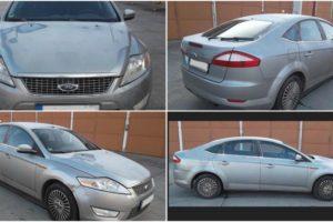 5.4.2018  Dražba automobilu Ford Mondeo BA7. Vyvolávací cena 30.000Kč.