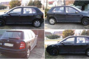 Do 11.4.2018 Aukce automobilu Škoda Fabia Hatchback. Vyvolávací cena 35.221 Kč.
