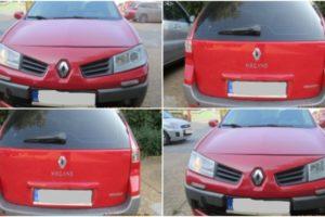 Do 31.5.2018 Výběrové řízení na prodej automobilu Renault Megane, combi. Minimální kupní cena 66.000 kč.