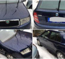 22.5.2018 Dražba automobilu Škoda Fabia 1.2 http 6Y. Vyvolávací cena 12.000 Kč.