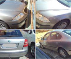 29.5.2018 Dražba automobilu Škoda Octavia, r. 2007. Vyvolávací cena 50.000 Kč.