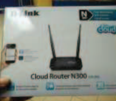 26.4.2018 Dražba cloud routeru. Vyvolávací cena 134 Kč.
