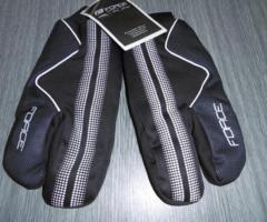 17.5.2018 Dražba zimních cyklistických rukavic Force. Vyvolávací cena 150 Kč.