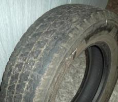 10.5.2018 Dražba pneumatik Bridgestone. Vyvolávací cena 2.000 Kč.