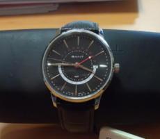 6.6.2018 Dražba pánských hodinek Gant. Vyvolávací cena 1.660 Kč.