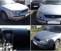 31.5.2018 Dražba automobilu Ford Mondeo BWY. Vyvolávací cena 10.000 Kč.