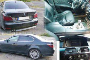 Do 15.5.2018 Úřední prodej automobilu BMW 530 D 560 L, minimální kupní cena 74.000 Kč.