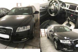 24.5.2018 Dražba automobilu Audi A6 3.0 TDI 176 kW V6 Quattro – odpočet DPH. Vyvolávací cena 148.500 Kč