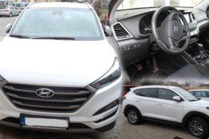 24.5.2018 Dražba automobilu Hyundai Tucson, vyvolávací cena 200.000 Kč.