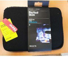 5.6.2018 Dražba Dicota PerfektSkin 17,3 art. N26088N, tašky na notebook, 320 ks. Vyvolávací cena 40.000 Kč.