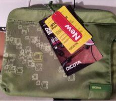 5.6.2018 Dražba Dicota SlimCase 13-14,1 N25818P, tašky na notebook, 200 kusů. Vyvolávací cena 18.000 Kč.