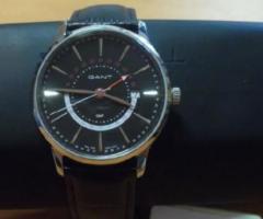 20.6.2018 Dražba pánských hodinek Gant. Vyvolávací cena 1.660 Kč.