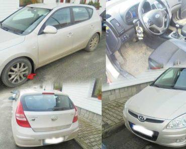 Automobil Hyundai i 30 FD – odhadní cena 111.000 Kč. Vydražen za 70.000 Kč.