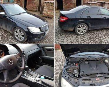 Automobil Mercedes Benz C220, CDI 204 byl vydražen za 163.000 Kč. Odhadní cena 300.000 Kč.