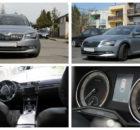 1.6.2018 Dražba automobilu Škoda Superb combi LAURIN & KLEMENT, r. 2015. Vyvolávací cena 600.000 Kč.
