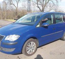 11.5.2018 Aukce automobilu VW Touran 1,9TDi-DSG 7st. Vyvolávací cena 110.000 Kč.