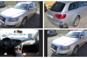 26.7.2018 Dražba automobilu Audi A6 Avant 4x4x Quattro, r. 2014. Vyvolávací cena 78.800 Kč.