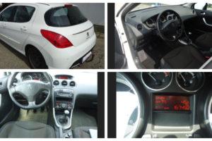 Do 25.6.2018 Aukce automobilu Peugeot 308 5P ACTIVE 1.6 HDI 115K, r. 2013. Vyvolávací cena 130.000 Kč.