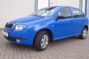Do 21.7.2018. Výběrové řízení na prodej automobilu Škoda Fabia 1.4. Minimální kupní cena 41.000 Kč.