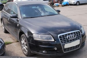 4.8.2018 Dražba automobilu Audi A6 Avant. Vyvolávací cena 110.000 Kč.