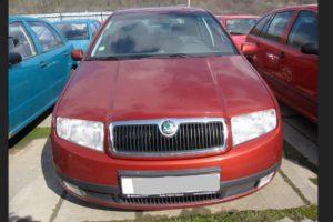 Do 11.7.2018 Aukce automobilu Škoda Fabia 1.4i/6/. Vyvolávací cena 13.400 Kč.