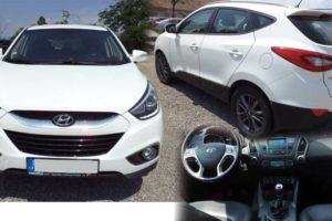 16.8.2018 Dražba automobilu Hyundai IX 35. Vyvolávací cena 108.900 Kč.