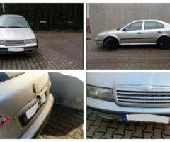 24.7.2018 Dražba automobilu Škoda Octavia 1.6. Vyvolávací cena 2.000 Kč.
