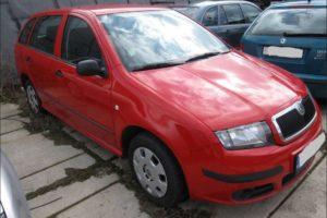 Do 11.7.2018 Aukce automobilu Škoda Fabia combi 1.2i /8/. Vyvolávací cena 16.600 Kč.