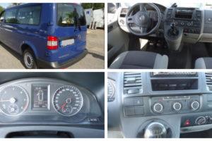 Do 25.6.2018 Aukce automobilu VW Transporter kombi 2.0 TDi, r. 2014. Vyvolávací cena 370.000 Kč.