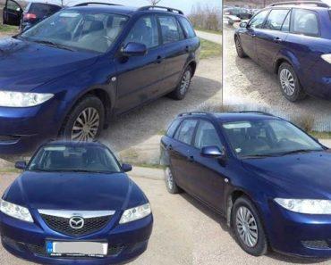 Automobil Mazda 6 GY byl vydražen za 17.740 Kč. Odhadní cena 42.000 Kč.