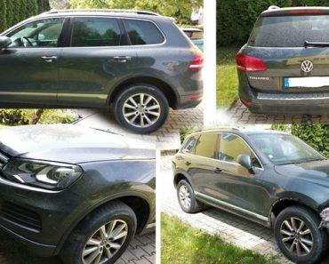 Automobil VW Touareg, r. 2011 byl vydražen za 182.500 Kč. Odhadní cena 300.000 Kč.