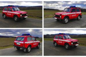 Do 23.7.20218 Výběrové řízení na prodej automobilu VAZ 21214 Lada Niva. Prodej nejvyšší nabídce.