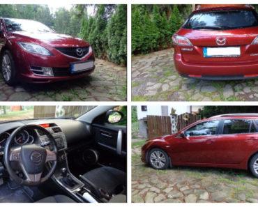 Do 31.8.2018 Aukce automobilu Mazda 6 2.0. Vyvolávací cena 139.000 Kč.