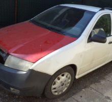 13.9.2018 Dražba dodávkového automobilu Škoda Fabia. Vyvolávací cena 3.500 Kč.