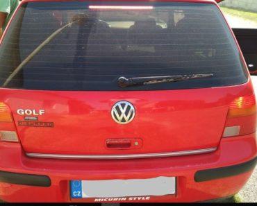 31.8.2018 Dražba automobilu VW Golf 1.4. Vyvolávací cena 5.000 Kč.
