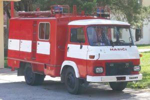 Do 31.7.2018 Výběrové řízení na prodej požárního vozidla A 31.1 K. Prodej nejvyšší nabídce.