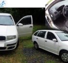 13.9.2018 Dražba automobilu Škoda Fabia 6Y, combi. Vyvolávací cena 11.200 Kč.