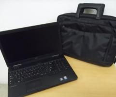 8.8.2018 Dražba notebooku Dell. Vyvolávací cena 5.000 Kč.