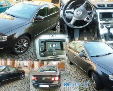 3.9.2018 Dražba automobilu VW Passat 3C, vyvolávací cena 50.000 Kč.