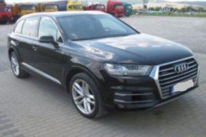Do 1.10.2018 Výběrové řízení na prodej automobilu Audi Q7 3.0 TDi S Line, 4×4. Minimální kupní cena 1.398.760.