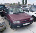 22.8.2018 Dražba automobilu Škoda Felicia /PTC/. Vyvolávací cena 300 Kč.